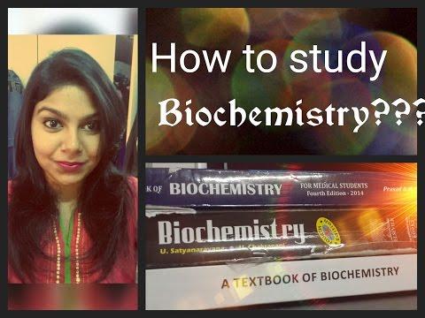 How to study Biochemistry in Medical School?