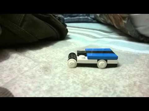 how to make a mini lego race car