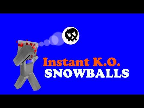Vanilla instant kill snowballs