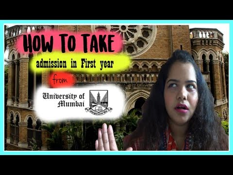 How to take Admissions in Mumbai University for First Year Degree Course|Online Admission 2017-18|