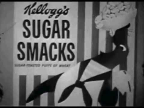 Kellogg's Sugar Smacks Commercial with Smaxey the Seal (late 50s)
