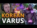 NEW KOREAN HYBRID VARUS BUILD!! BETTER THAN ADC!? - League of Legends