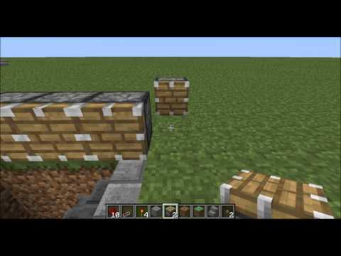 Hidden Staircase With No Sticky Pistons (Tutorial) Minecraft 1.2.5