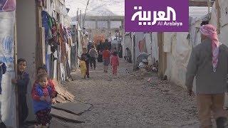 الشتاء يقسو على اللاجئين السوريين في البقاع اللبناني
