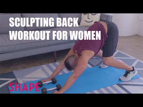 Sculpting Back Workout for Women