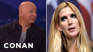 """Jeff Ross Loved Roasting """"Awful"""" Ann Coulter  - CONAN on TBS"""