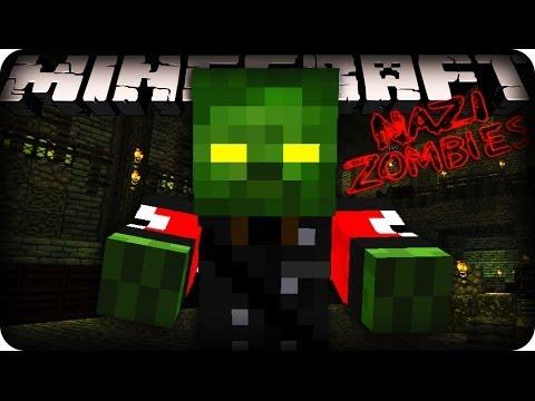 Minecraft Zombies (Black Ops Zombies) - A NEW MAP! w/CraftBattleDuty & MrWoofless!