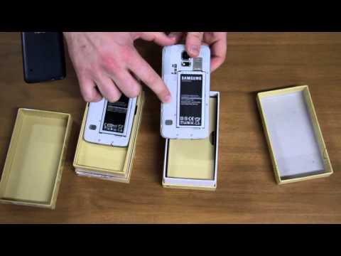 Cómo diferenciar un Samsung Galaxy S5 original y una imitación