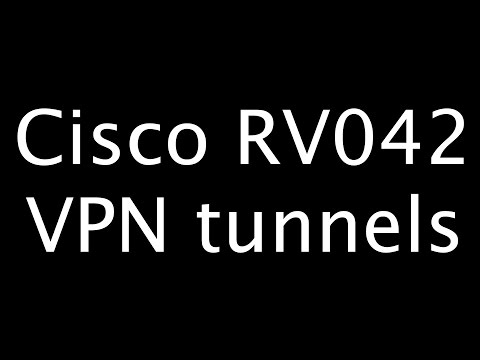 How to build your own cloud (part 6) - Cisco RV042 VPN IPSec site-to-site tunnel examples