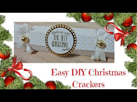 Christmas Workshop 2017 | Easy DIY Christmas Crackers