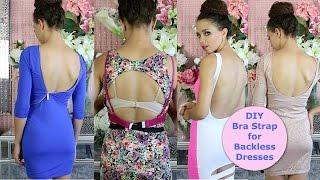 DIY Bra Strap Extension for Backless Tops & Dresses