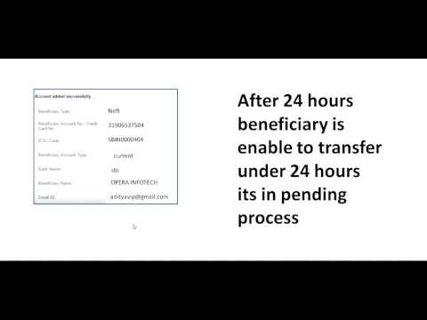 How to online transfer money hdfc bank account to sbi state bank of india bank account