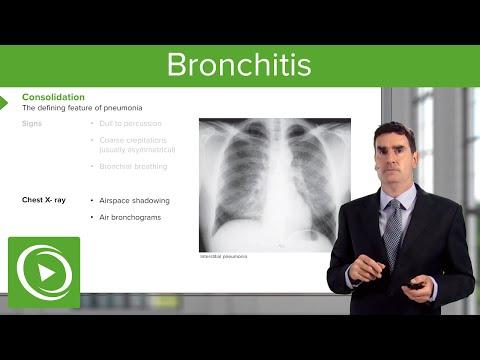 Bronchitis: Consequences, Symptoms & Treatment – Respiratory Medicine   Lecturio