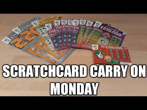 Scratchcard Carry On Monday