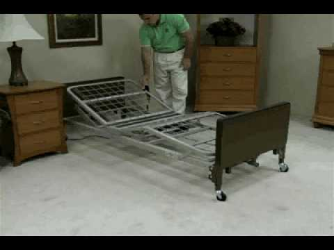 Hospital Bed Assembly | How to Assemble a Hospital Bed
