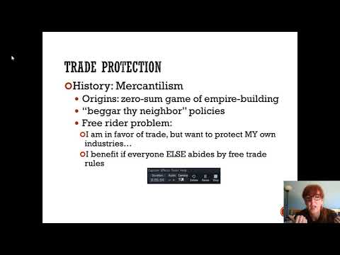 Why we trade, Mercantilism and the WTO