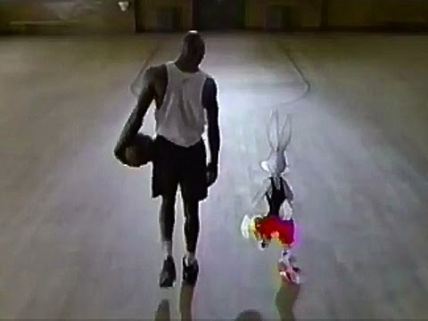 Nike Shoe Company with Michael Jordan & Bugs Bunny 1992 TV Commercial HD