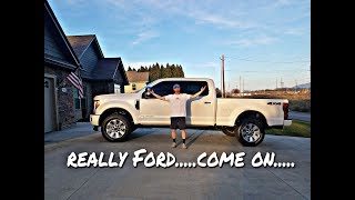 NEW VEHICLE?!?! And found out the $80,000 Super Duty is weak....