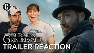 Fantastic Beasts: The Crimes of Grindelwald Teaser Trailer Reaction & Review