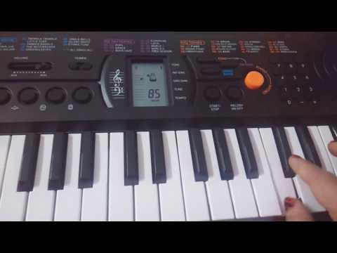 Vande Mataram on Keyboard-Casio-Easy Tutorial for beginners( EasyNotes)