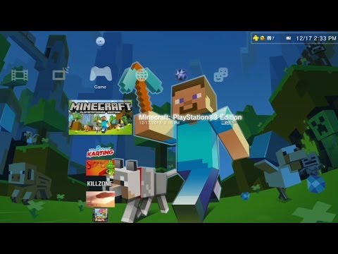 Minecraft PlayStation 3 Gameplay - Creative Mode (PS3 Gameplay)