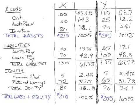 Vertical Analysis:  Financial Statement Analysis Part 2