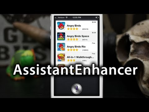 [Cydia Tweaks] AssistantEnhancer - Add More Features To Siri - $1.99