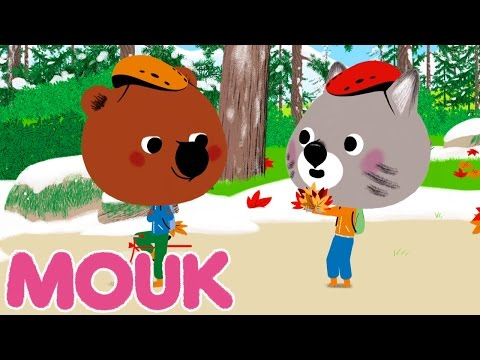 Mouk - Land Art (Canada) | Cartoon for kids