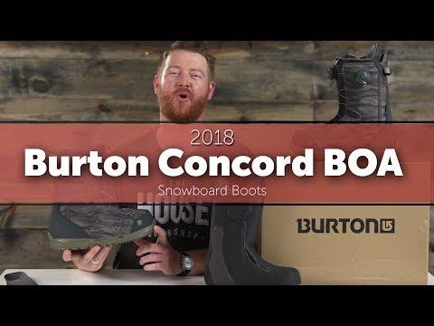 2018 Burton Concord BOA Snowboard Boots