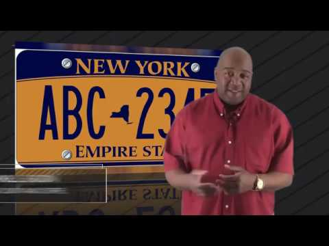 Do I Need A Front License Plate On My Car In New York State   New York State License Plates