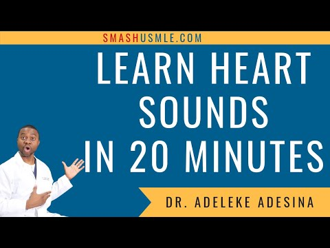 LEARN HEART SOUNDS IN 20 MINUTES!!!
