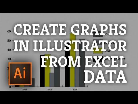 Adobe Illustrator: Creating Graphs in Adobe Illustrator using Excel Data