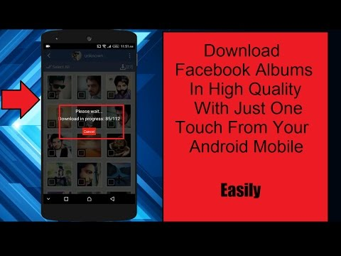 How To Download Facebook Albums From Your Android Mobile Phone