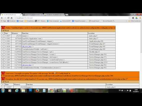 ZF2 Просто, Лесно, Бързо. Модули Идентификация, Оторизация, Навигация, CMS  - SoftUni част 3/4