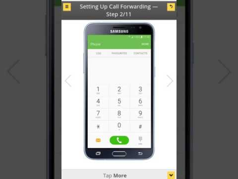 HOW TO ENABLE AND DISABLE CALL FORWARDING FROM SUMSUNG | Setting up call forwarding