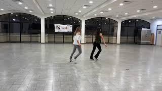 """ריקודי עם אורלי שמש הדגמה:   """"האיש ההוא""""  גדי ביטון + קובי מכאלי"""