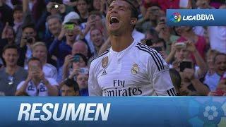 Resumen de Real Madrid (9-1) Granada CF