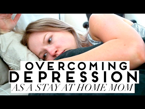 🌧 BEST Tips To Overcome Depression As A Stay At Home Mom
