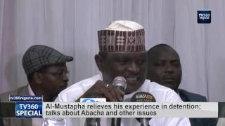 Al-Mustapha relieves his experience in detention;  talks about Abacha and other issues