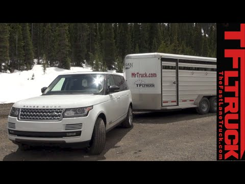 2015 Range Rover Takes on the Extreme Ike Gauntlet Towing Review