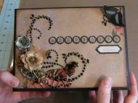 Altered Cigar Box - Packaging Reuse Tip