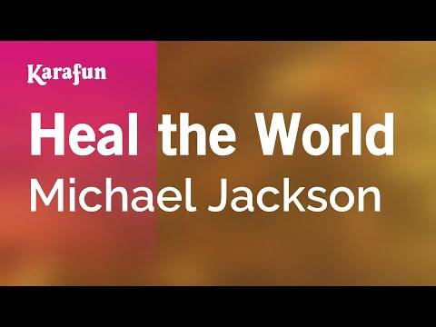 Karaoke Heal The World - Michael Jackson *