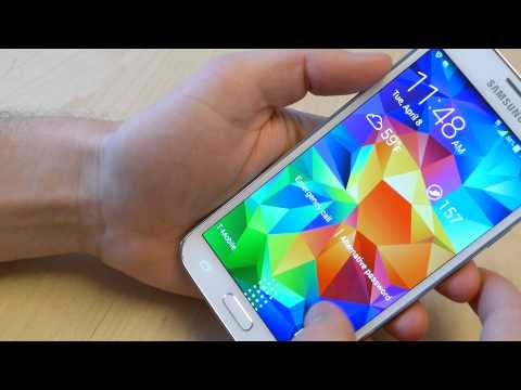 How to setup the Samsung Galaxy S5 fingerprint scanner