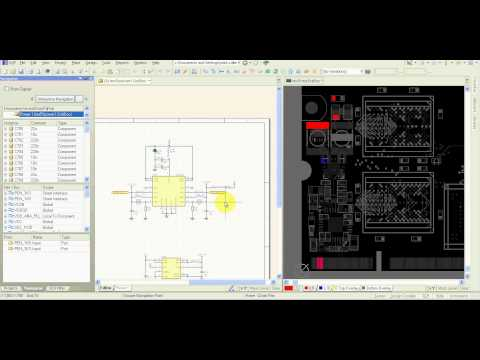 Altium Designer Tutorial - Nets / Components browsing / probing in schematic and PCB