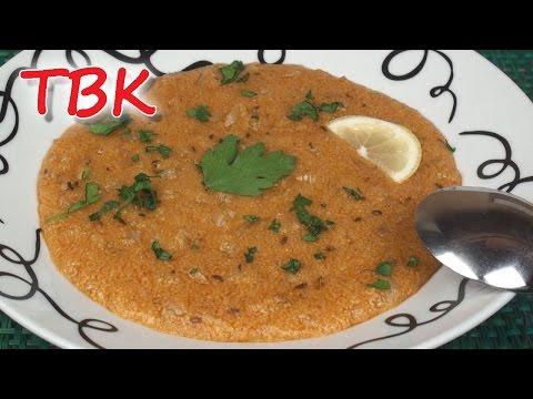 Tunisian Hsou (Spicy Semolina Soup) Recipe - Titli's Busy Kitchen