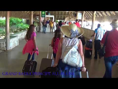 Punta Cana International Airport, just arriving at the paradise.