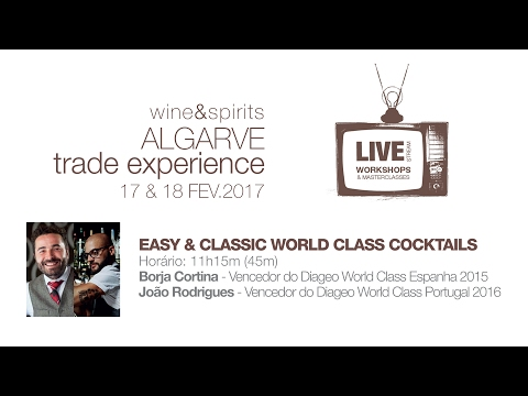 Easy & classic world class cocktails - Workshop