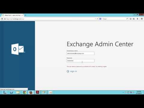 how to Assign mailbox to active directory users in exchange 2013