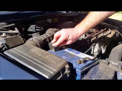 The quickest & easiest way to clean corroded car battery terminals