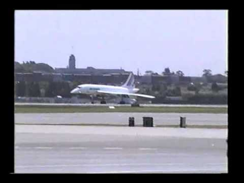 Concorde take-off at Sydney